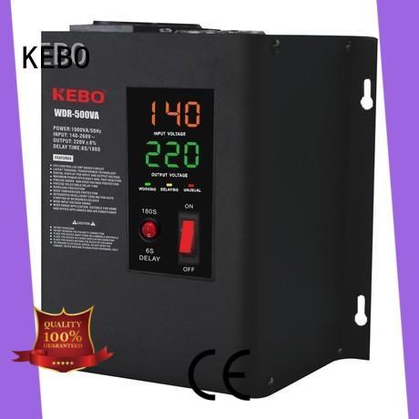 KEBO 500va10kva power stabilizer customized for compressors