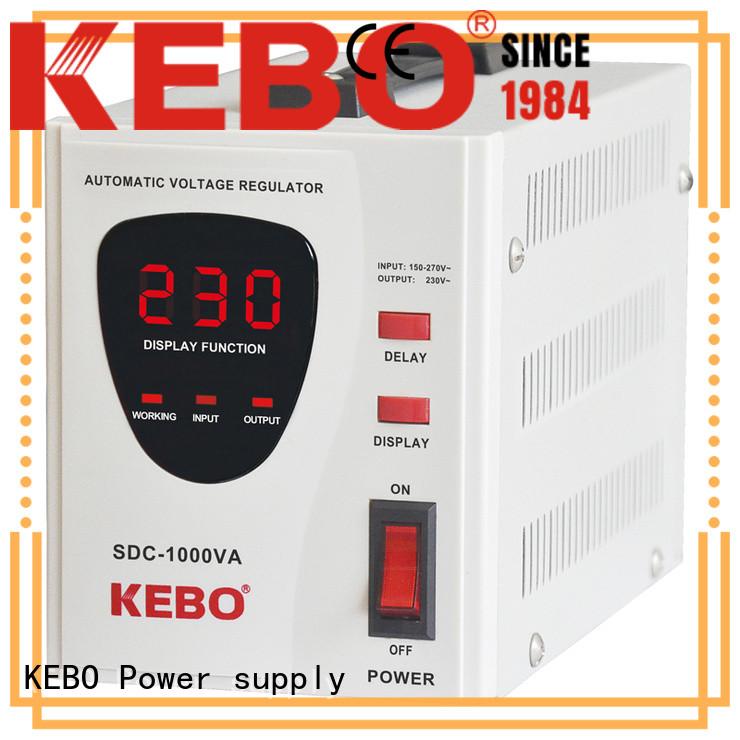KEBO transformer servo motor stabilizer manufacturer for laboratory