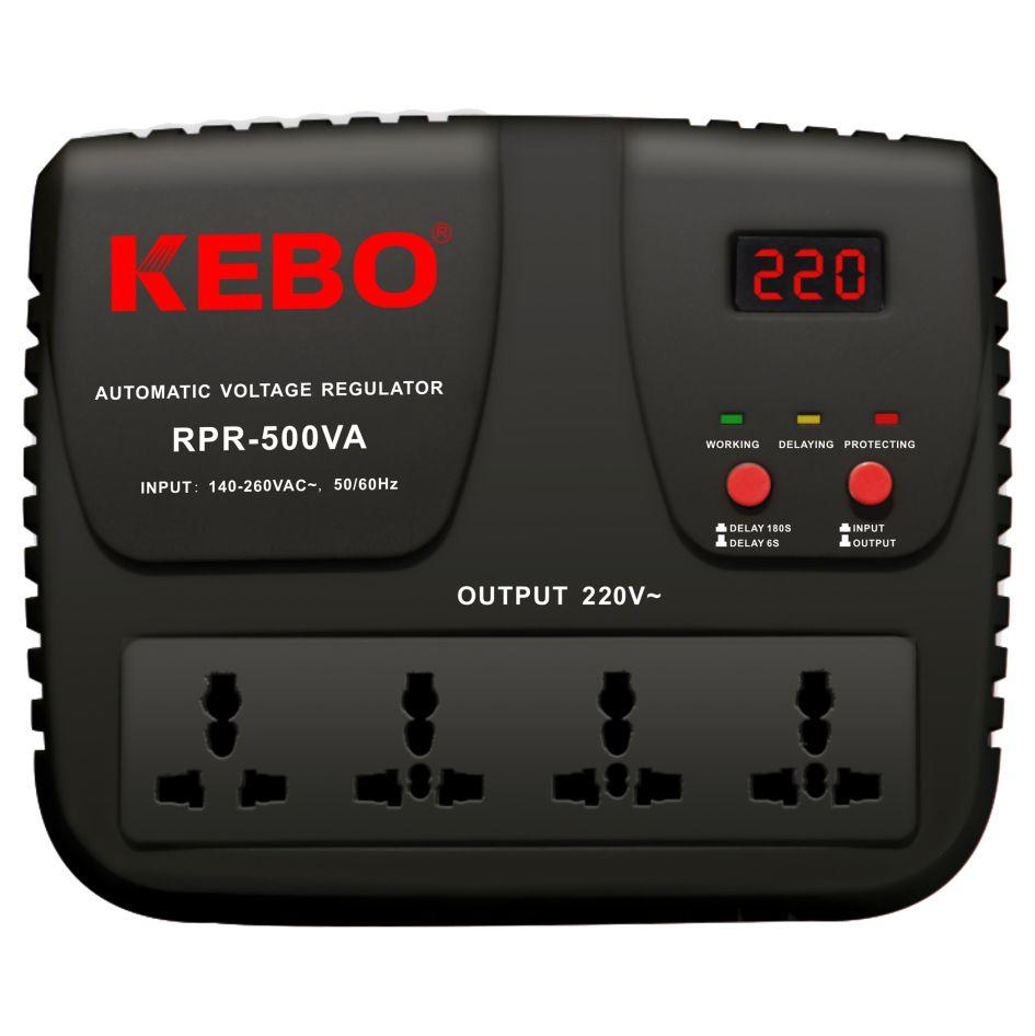 KEBO -High Performance Relay Stabilizer Rpr-5001000va With Output Voltage 220v230v240v-2