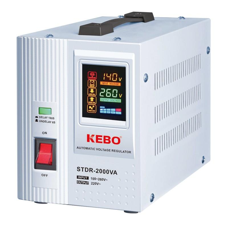 KEBO -Upgrade Automatic Voltage Regulator Stdr Series With Integrated Led Display-1