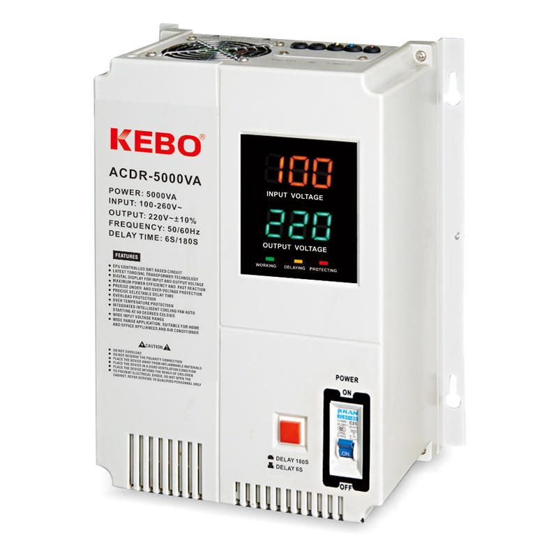 KEBO -Manufacturer Of Avr Regulator Wall Mounted Relay Type Acdr 05k-10kva Voltage-2