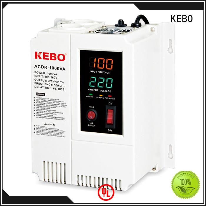 stabilizer efficiency KEBO Brand voltage stabilizer for home