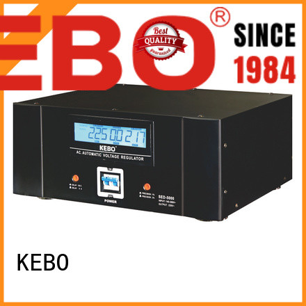 output stabilizer single phase servo voltage stabilizer meter single KEBO Brand