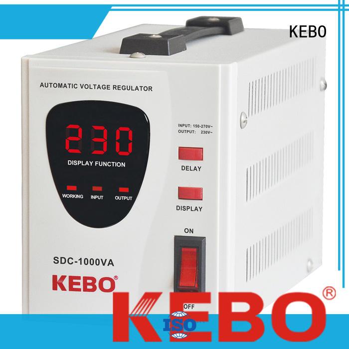 KEBO durable servo voltage stabilizer supplier for indoor