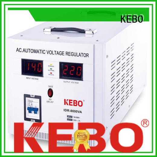 Hot single phase servo voltage stabilizer ultra KEBO Brand